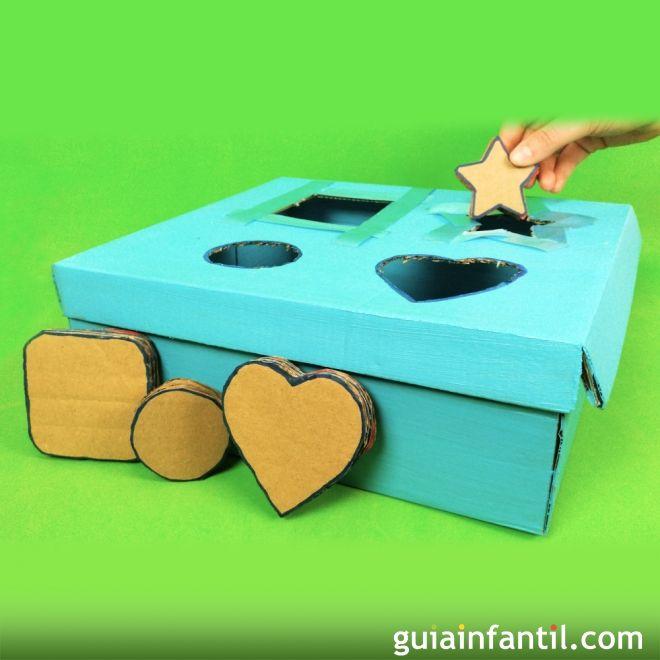 Cmo hacer un juego de piezas encajables para bebs y nios