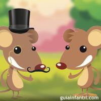 Fbula de ratn de campo y ratn de ciudad para nios