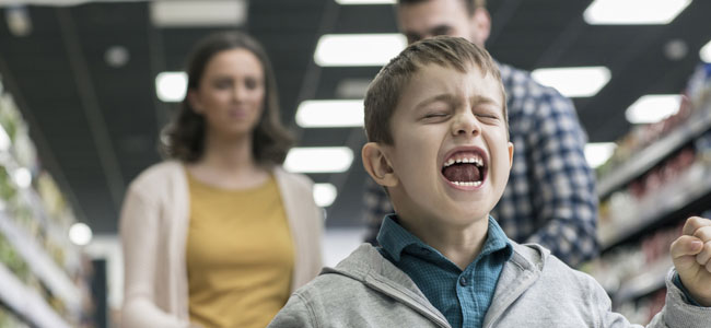 Niños malcriados