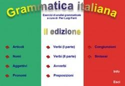 Grammatica italiana esercizi interattivi