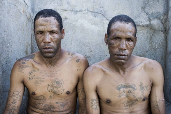 South Africa prison gang tattoos. Bless and Kojak: The twins are 43 years