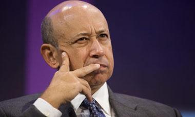 Lloyd Blankfein, CEO Goldman Sachs