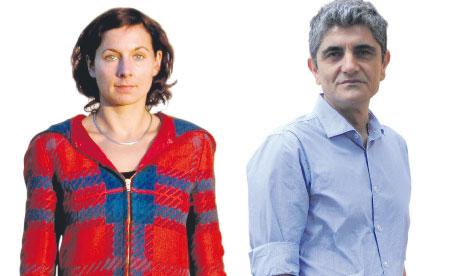 Constantine Giannaris and Juli Zeh