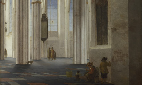 The Interior of the Buurkerk at Utrecht