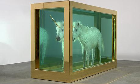 Damien Hirst's unicorn, The Child's Dream