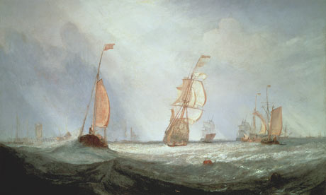 Helvoetsluys (1832) by JMW Turner, at Tate Britain