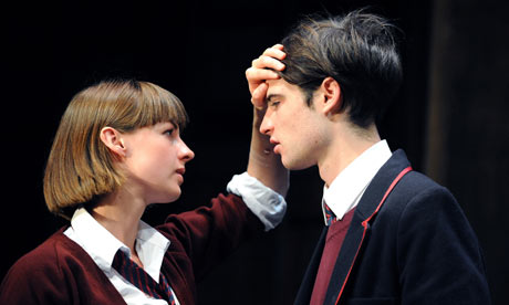 Tom Sturridge (William Carlisle) and Jessica Raine (Lily Cahill) in Punk Rock