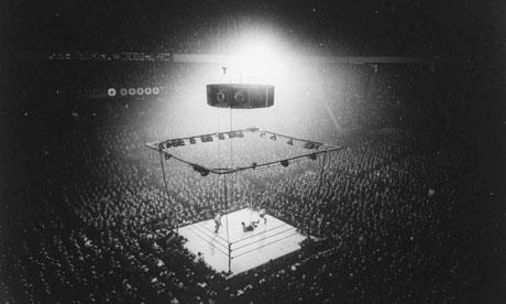 Boxing ring: Joe Louis and Joe Walcott