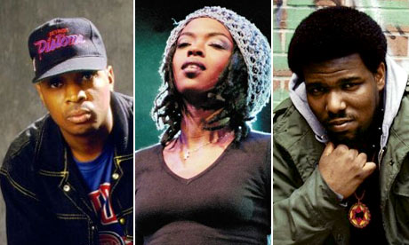 Public Enemy's Chuck D, Lauryn Hill and Afrika Bambaataa