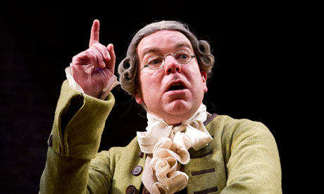 She Stoops to Conquer, at the Olivier, London.