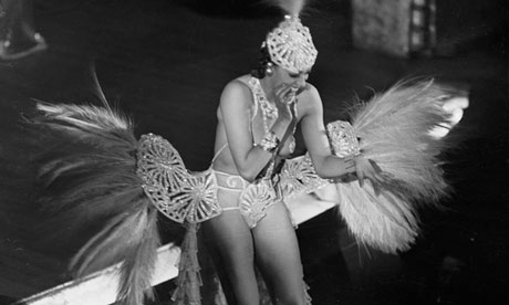 Josephine Baker at the Casino of Paris in 1939