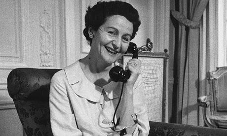 Nancy Mitford in 1956