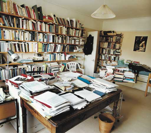 Writers' rooms: Eric Hobsbawm