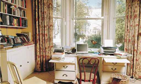 Writers' rooms: Margaret Drabble