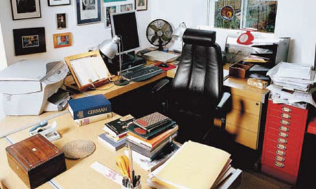Writers' rooms: Michael Frayn