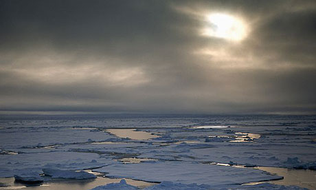 Near the North Pole in the Russian Arctic