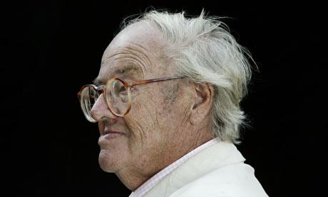 John Mortimer in 2003