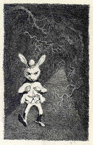 Mervyn Peake: Mervyn Peake White Rabbit
