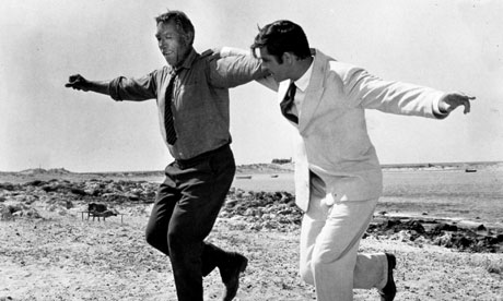 Shelf life ... Anthony Quinn and Alan Bates in the 1964 film adaptation of Zorba the Greek.