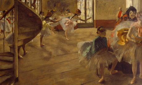 The Rehearsal, by Degas