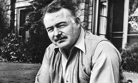 Ernest Hemingway in 1958. Photograph: Cine Text/Sportsphoto Ltd/Allstar