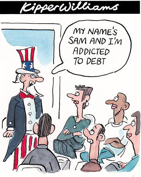 Kipper Williams US debt crisis: 02.08.2011