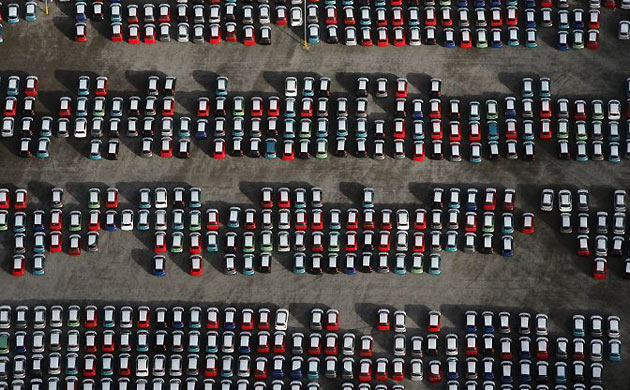 Unsold Cars via http://www.guardian.co.uk