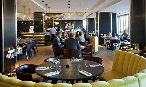 Sea Containers London SE1  restaurant review  Marina O