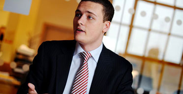 Wes Streeting, President of NUS