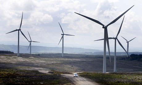 Windfarms and other renewables feature in our resources for children about energy consumption