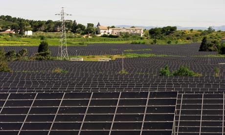 La Narbonnaise photovoltaic solar farm Alternative Energy, France - June 2009