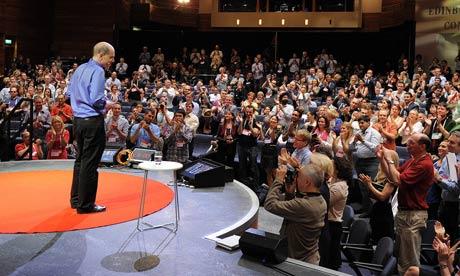 TED talks in Edinburgh : Alain de Botton
