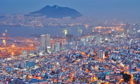 MDG : Port city of Busan, South Korea