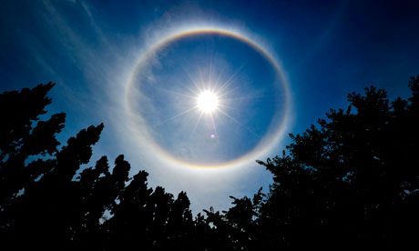 Gates Funded Experiment To Spray Atmosphere With Sulphur Particles Geoengineering  a rainbow 008