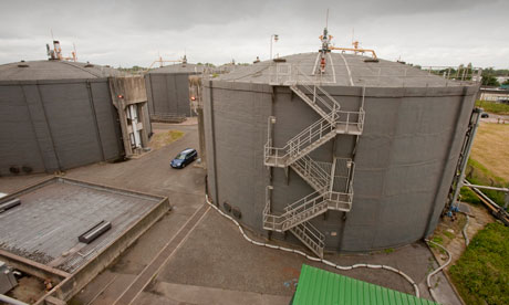 Damian blog : Biodigesters at sewage treatment plant : production of biogas or methane