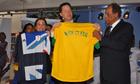 Rio+20 : Nick Clegg at Football Museum