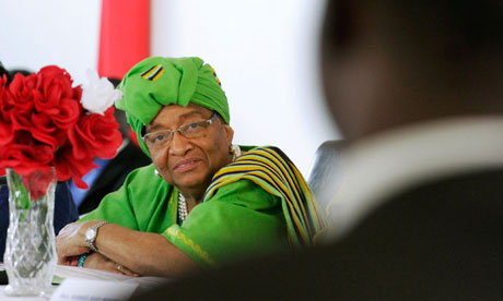 MDG Ellen Johnson Sirleaf