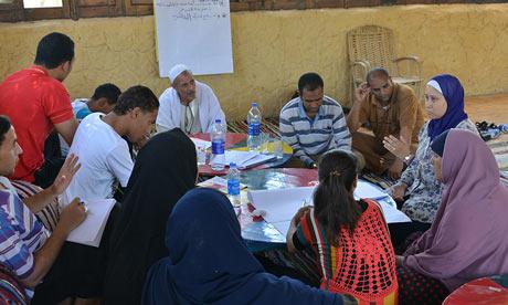 MDG : Ground level panels : deliberating global development issues in Egypt