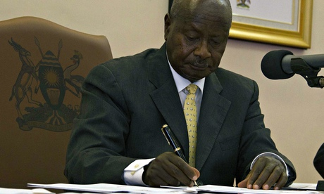 MDG : Ugandan president Yoweri Museveni