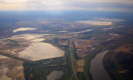 oil sands, northern Canada