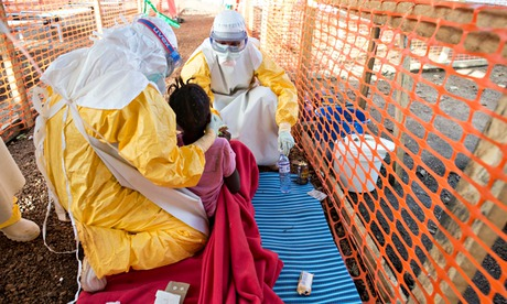 MDG : MSF Ebola Treatment Centre in Kailahun, Sierra Leone