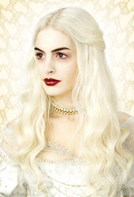 Tim Burton's Alice in Wonderland - concept art. Anne Hathaway as the White Queen