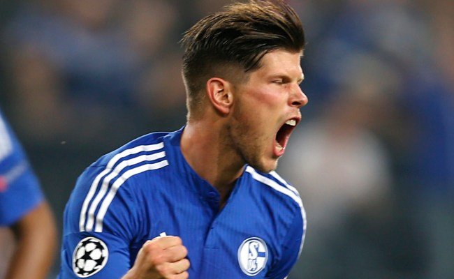 Schalke S Klaas Jan Huntelaar Given Six Match Bundesliga