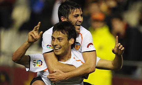 David Silva and David Villa