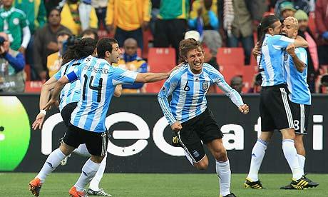 Argentina v Nigeria
