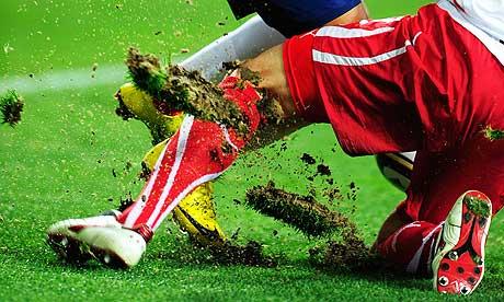 Chile v Switzerland, Port Elizabeth pitch