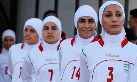 Iran's women's football team