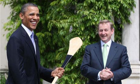 Barack Obama Ireland Enda Kenny