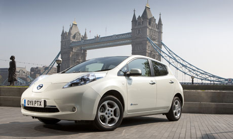 nissan leaf uk