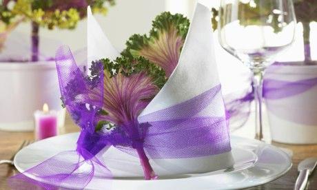 Napkin cabbage